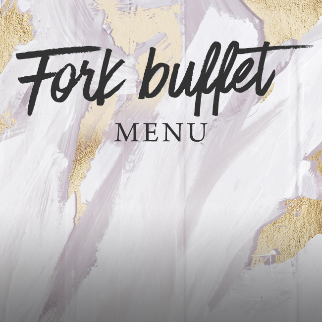 Fork buffet menu at The Horseshoes
