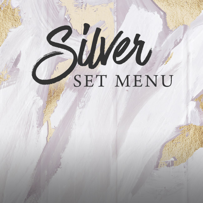 Silver set menu at The Horseshoes
