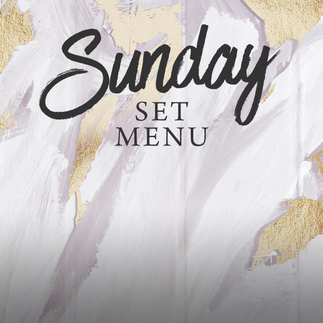 Sunday set menu at The Horseshoes