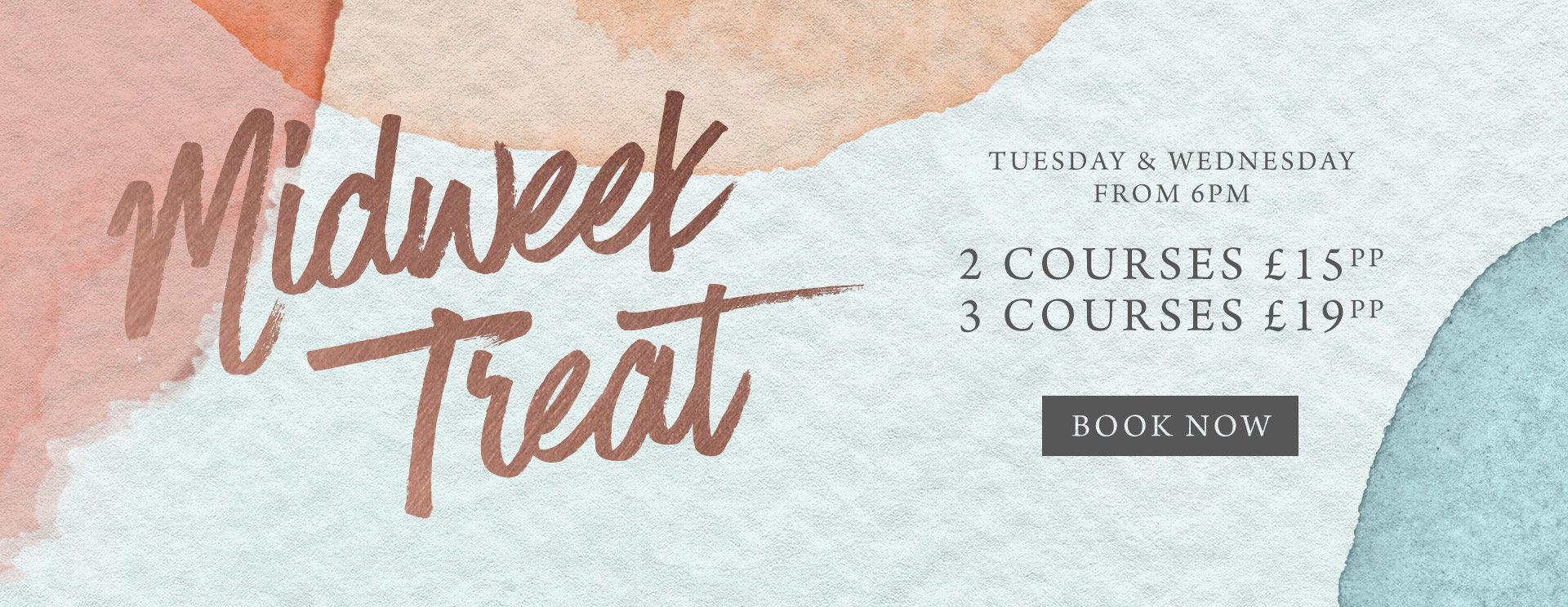 Midweek treat at The Horseshoes - Book now